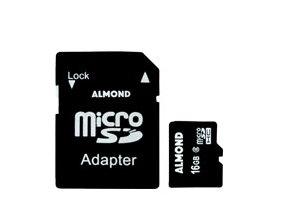ALMOND ΜΝΗΜΗ MICRO SDHC ΜΕ ΑΝΤΑΠΤ. SD 16GB
