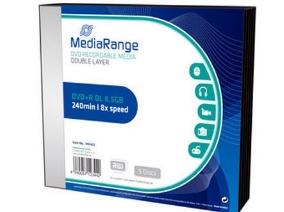 DVD+R Dual Layer 8.5GB MediaRange