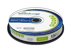 MediaRange DVD-R 120' 4.7GB 16x