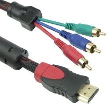 Καλώδιο HDMI σε 3xRCA, 1.8m, HQ