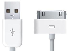 ΚΑΛΩΔΙΟ USB ΓΙΑ APPLE IPHONE 3/4 ΛΕΥΚΟ
