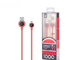MTK ΚΑΛΩΔΙΟ USB 2.0 1m ΓΙΑ IPHONE Κόκκινο