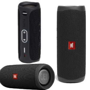 JBL Flip5 Portable Bluetooth Speaker Black