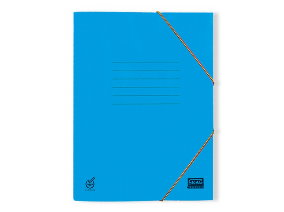 Φάκελος αρχειοθέτησης γαλάζιο 5τμχ