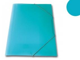 SKAG πλαστικό ντοσιέ με λάστιχο Γαλάζιος