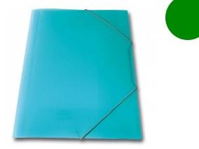 SKAG πλαστικό ντοσιέ με λάστιχο Πράσινος