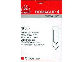 Συνδετήρες εγγράφων Maestri Romaclip 4