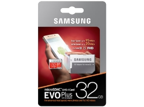 Samsung Micro Secure Digital Evo Plus U1 32GB Class 10