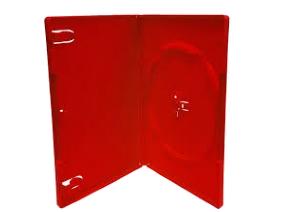 Θήκη για 1 CD/DVD (κόκκινο)